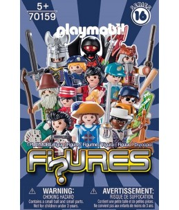 Playmobil Figures azul