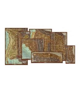 D&D Set de mapas de los...