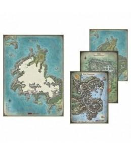 D&D Set de mapas de la...