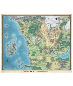 D&D Mapa de Faerûn